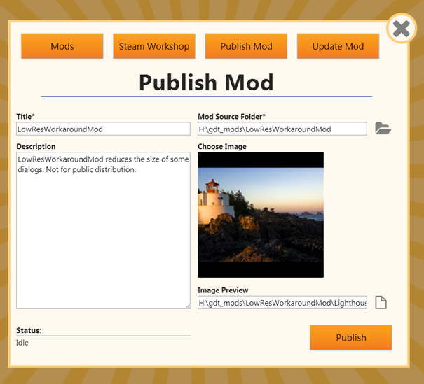 How to publish a mod to Steam Workshop - modding - Greenheart Games