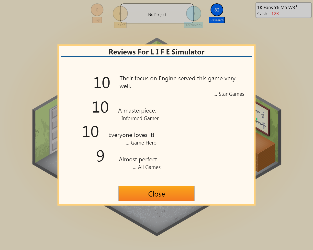 Belive it or not    [L I F E Simulator] - Game Dev Tycoon